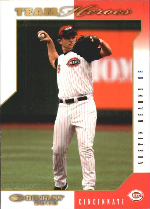 2003 Donruss Team Heroes #138 Austin Kearns