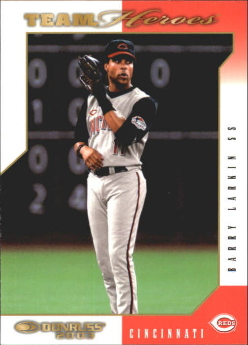 2003 Donruss Team Heroes #139 Barry Larkin