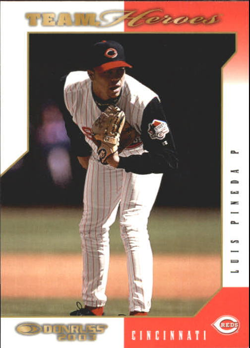 2003 Donruss Team Heroes #141 Luis Pineda
