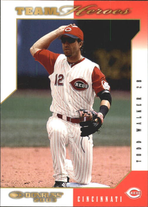 2003 Donruss Team Heroes #150 Todd Walker