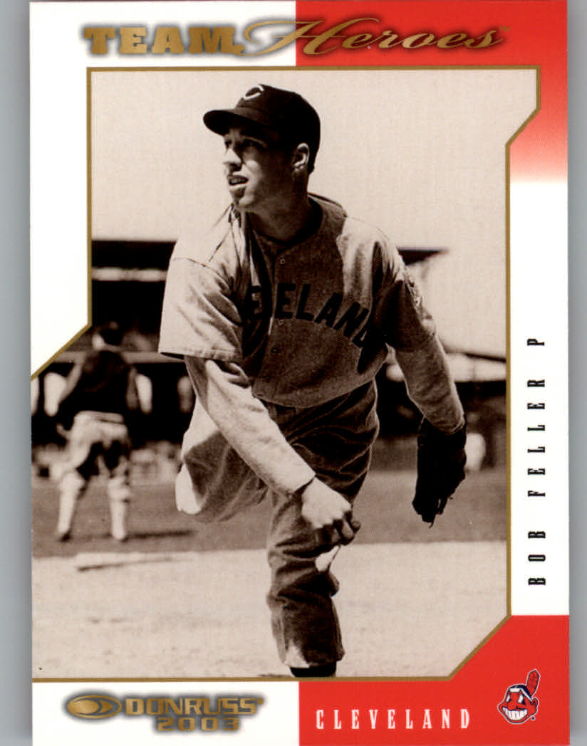 2003 Donruss Team Heroes #164 Bob Feller