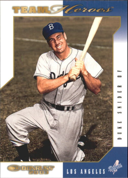 2003 Donruss Team Heroes #249 Duke Snider