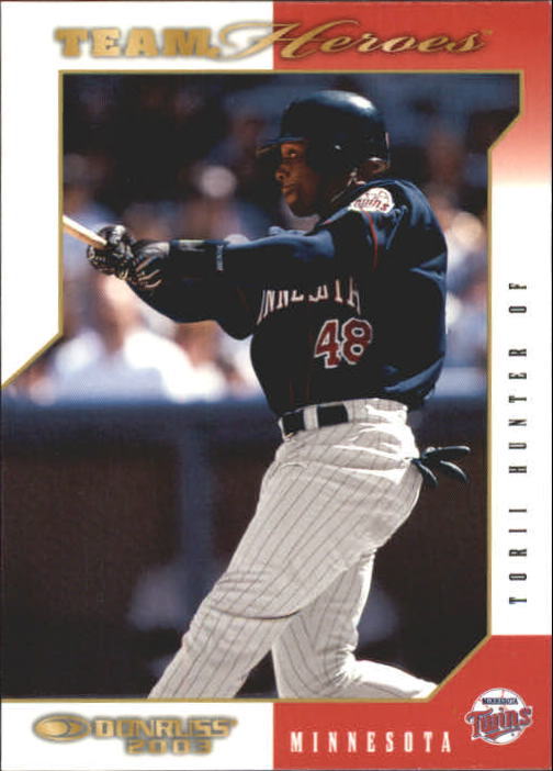 2003 Donruss Team Heroes #291 Torii Hunter