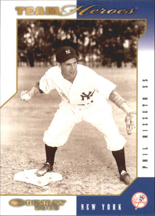2003 Donruss Team Heroes #341 Phil Rizzuto