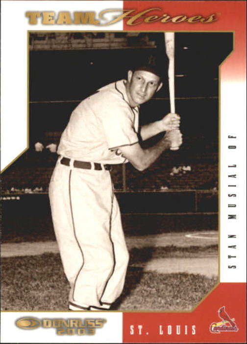 2003 Donruss Team Heroes #477 Stan Musial
