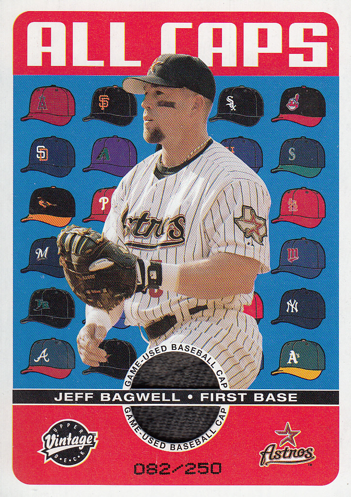 2003 Upper Deck Vintage All Caps #JB Jeff Bagwell