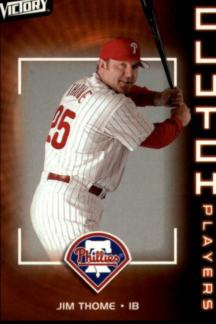 2003 Upper Deck Victory #137 Jim Thome CP