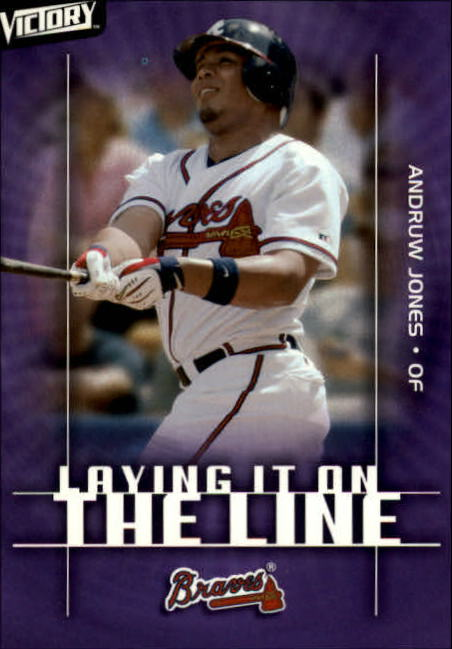 2003 Upper Deck Victory #150 Andruw Jones LL
