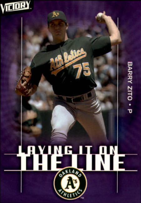 2003 Upper Deck Victory #151 Barry Zito LL
