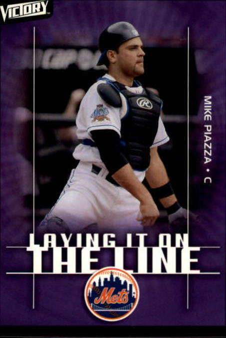 2003 Upper Deck Victory #161 Mike Piazza LL