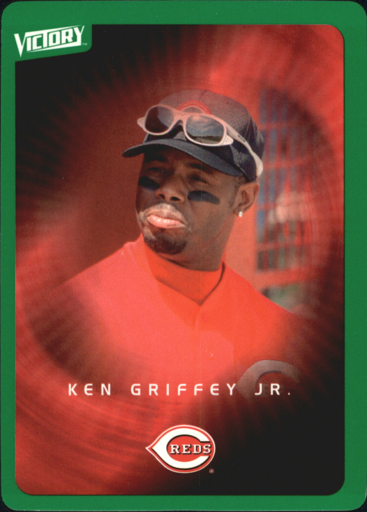 2003 Upper Deck Victory Tier 1 Green #30 Ken Griffey Jr.