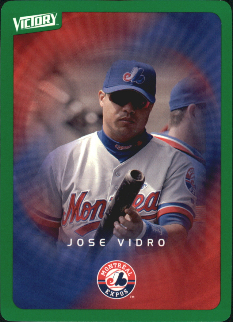 2003 Upper Deck Victory Tier 1 Green #50 Jose Vidro