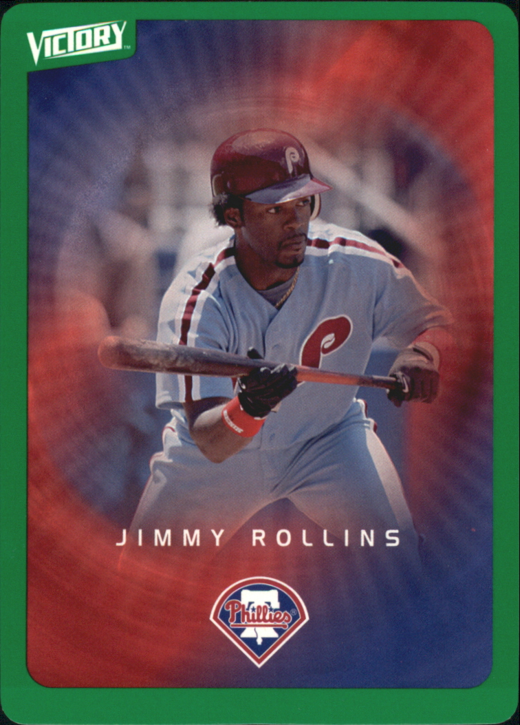 2003 Upper Deck Victory Tier 1 Green #69 Jimmy Rollins