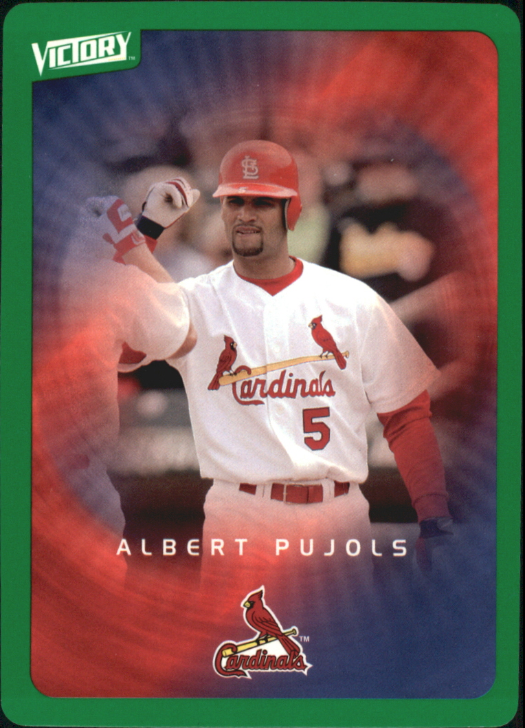 2003 Upper Deck Victory Tier 1 Green #87 Albert Pujols