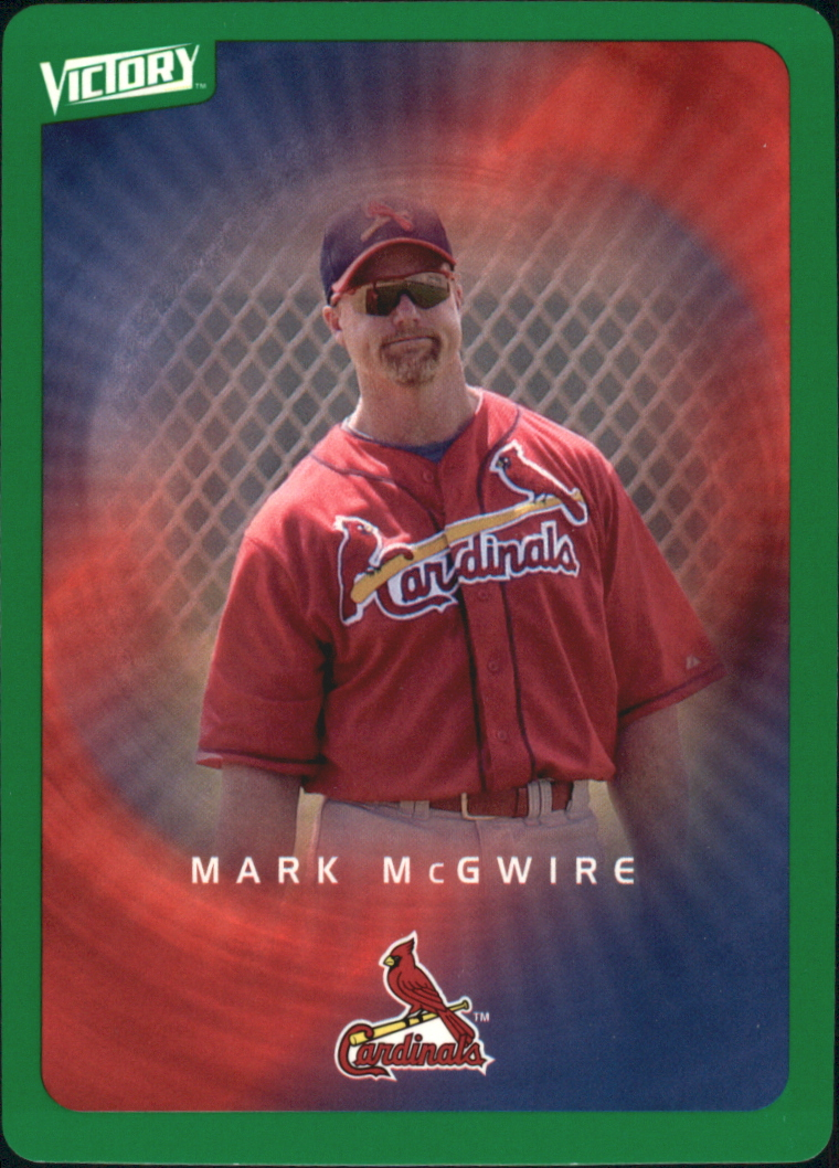 2003 Upper Deck Victory Tier 1 Green #88 Mark McGwire
