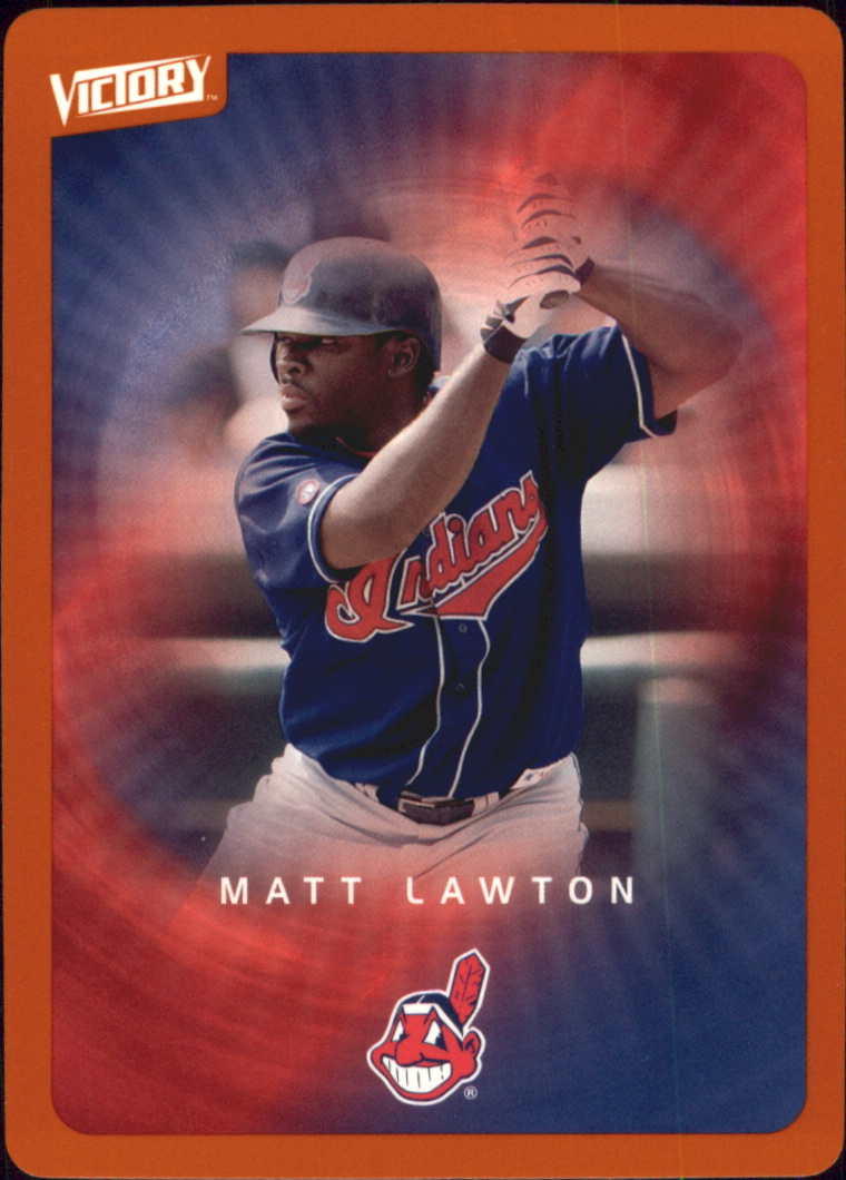 2003 Upper Deck Victory Tier 2 Orange #32 Matt Lawton