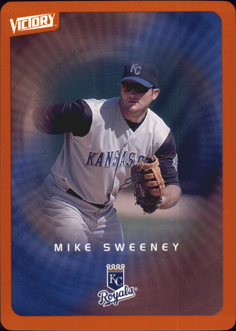 2003 Upper Deck Victory Tier 2 Orange #38 Mike Sweeney