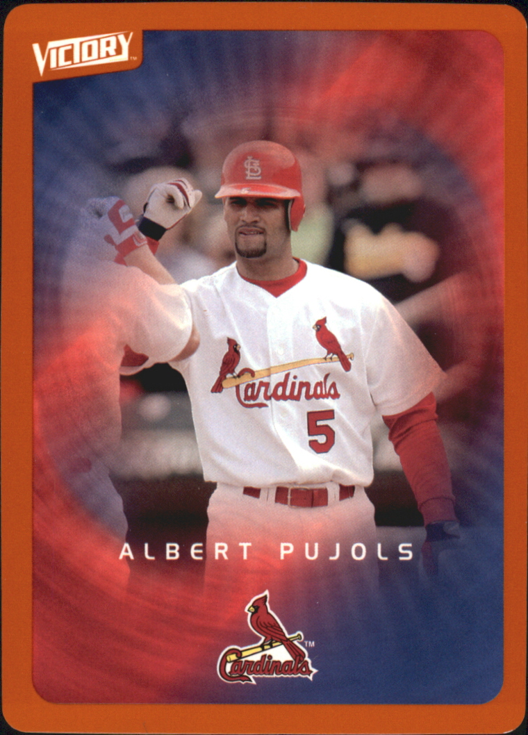 2003 Upper Deck Victory Tier 2 Orange #87 Albert Pujols