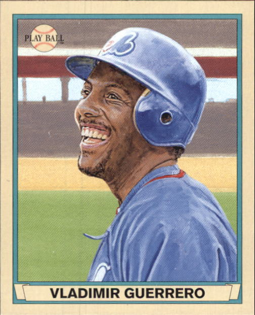 2003 Upper Deck Play Ball 1941 Series #37 Vladimir Guerrero