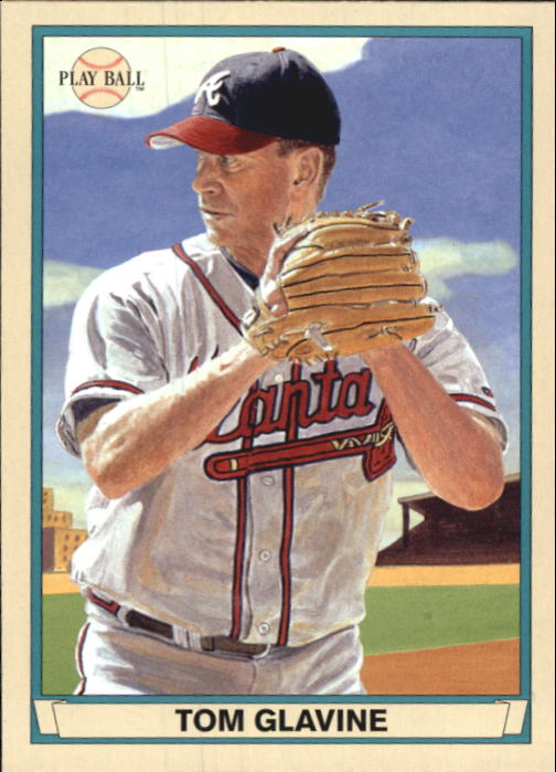 2003 Upper Deck Play Ball Red Backs #6 Tom Glavine