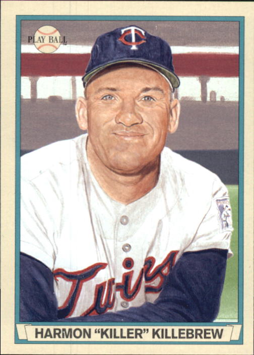 2003 Upper Deck Play Ball Red Backs #35 Harmon Killebrew
