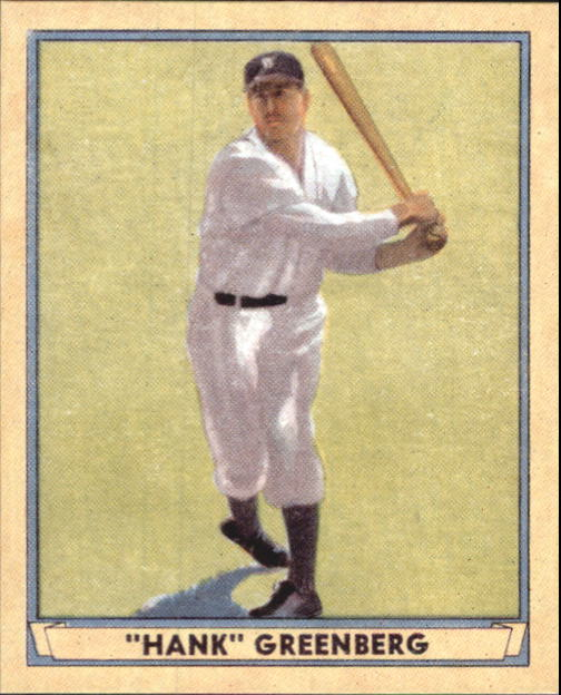 2003 Upper Deck Play Ball 1941 Reprints #R2 Hank Greenberg