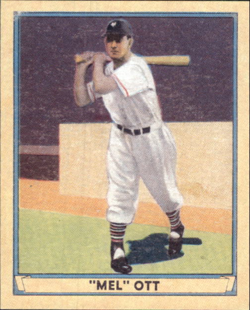 2003 Upper Deck Play Ball 1941 Reprints #R7 Mel Ott