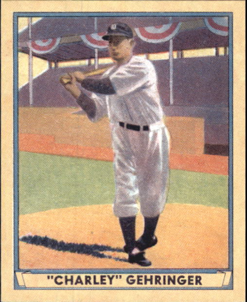 2003 Upper Deck Play Ball 1941 Reprints #R11 Charley Gehringer front image