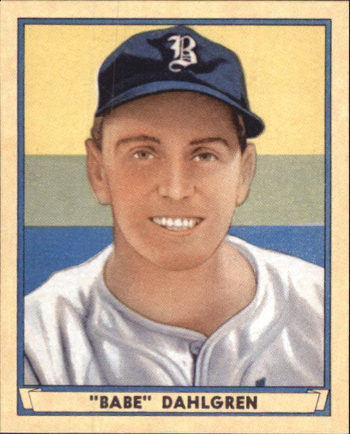 2003 Upper Deck Play Ball 1941 Reprints #R13 Babe Dahlgren