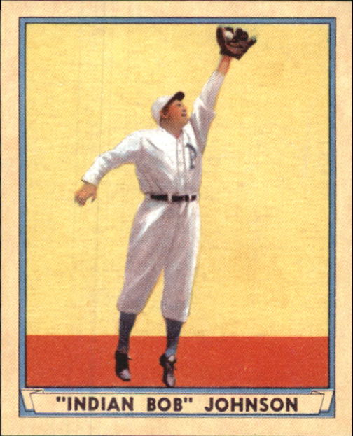 2003 Upper Deck Play Ball 1941 Reprints #R19 Indian Bob Johnson