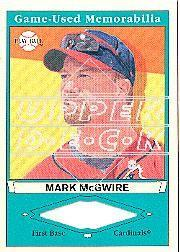2003 Upper Deck Play Ball Game Used Memorabilia Tier 1 #MM1 Mark McGwire Jsy