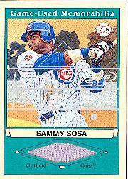 2003 Upper Deck Play Ball Game Used Memorabilia Tier 1 #SS1 Sammy Sosa Jsy