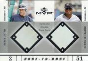 2003 Upper Deck MVP Base-to-Base #JW D.Jeter/B.Williams