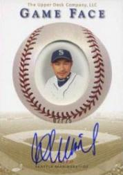 2003 Upper Deck Game Face Autographs Gold #IS Ichiro Suzuki