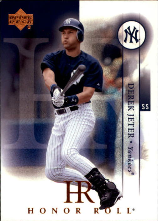 2003 Upper Deck Honor Roll #2 Derek Jeter SP