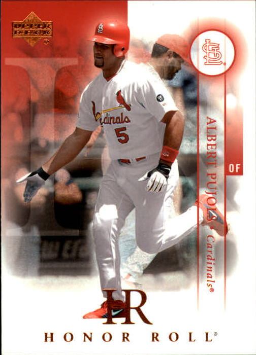 2003 Upper Deck Honor Roll #29 Albert Pujols