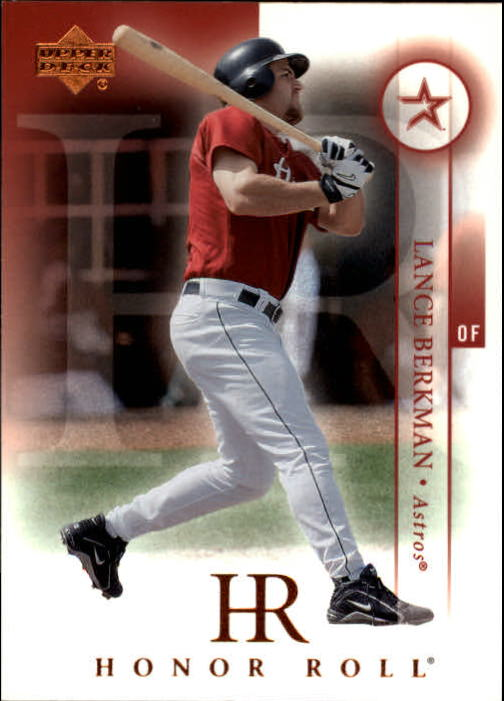 2003 Upper Deck Honor Roll #65 Lance Berkman