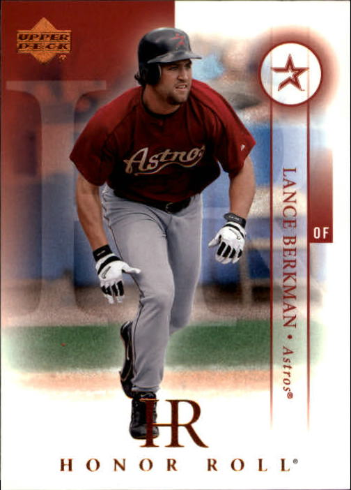 2003 Upper Deck Honor Roll #66 Lance Berkman