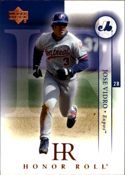 2003 Upper Deck Honor Roll #89 Jose Vidro