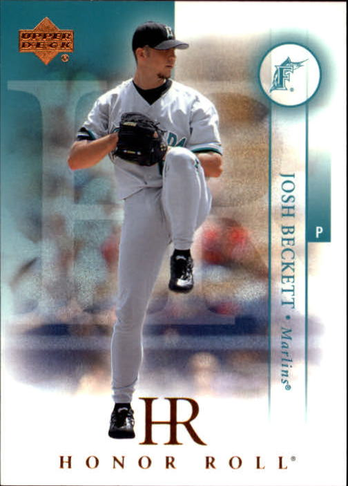 2003 Upper Deck Honor Roll #105 Josh Beckett