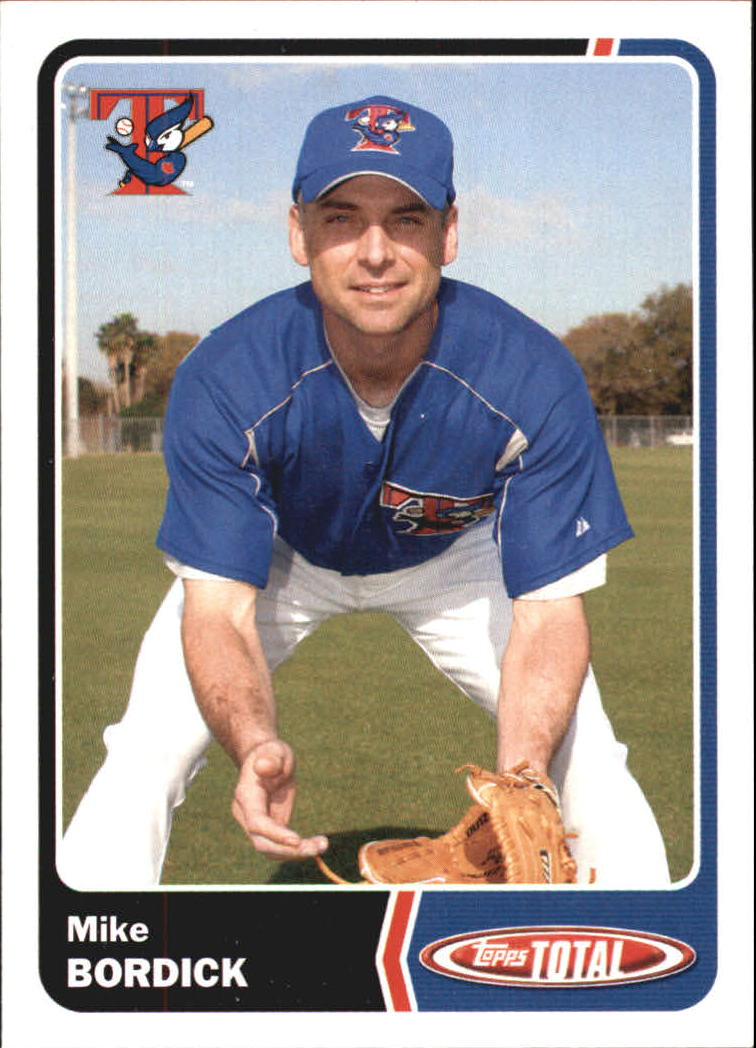 2003 Topps Total #28 Mike Bordick