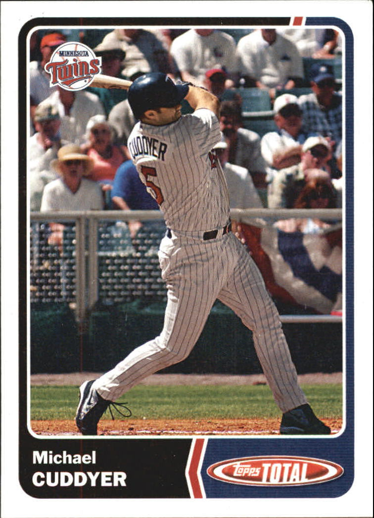 2003 Topps Total #51 Michael Cuddyer