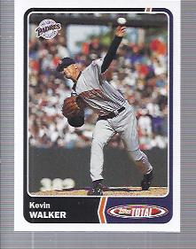 2003 Topps Total #88 Kevin Walker