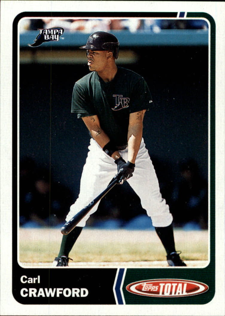 2003 Topps Total #848 Carl Crawford