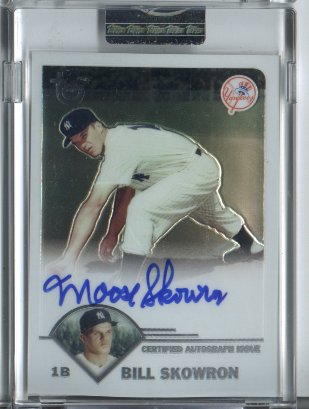2003 Topps Retired Signature Autographs #BS Bill Skowron G