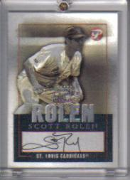 2003 Topps Pristine Personal Endorsements #SR Scott Rolen