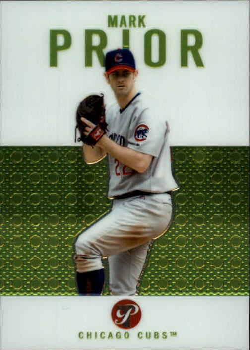 2003 Topps Pristine #52 Mark Prior
