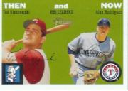 2003 Topps Heritage Then and Now #TN2 T.Kluszewski/A.Rod RBI