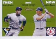 2003 Topps Heritage Then and Now #TN6 M.Minoso/J.Damon