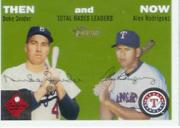 2003 Topps Heritage Then and Now #TN8 D.Snider/A.Rodriguez